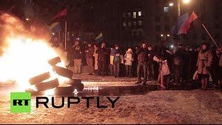 Украинские националисты отметили вторую годовщину Майдана