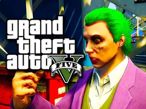 GTA 5 Next Gen Funny Moments!  (The Joker Plays GTA V!)  Xbox One Gameplay!
