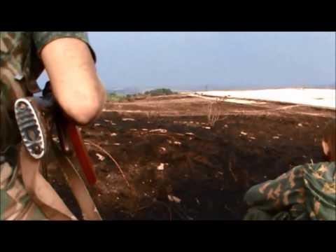 Бойцы подразделения Мотороллы кошмарят укров пытаясь выманить их на открытый бой - DomaVideo.Ru