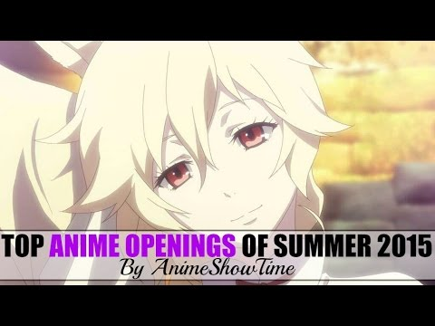 top 25 anime openings 2015