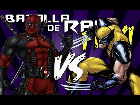 DEADPOOL VS WOLVERINE RAP | MC ENERGY FT BHR - Prod.SADIKBEATZ