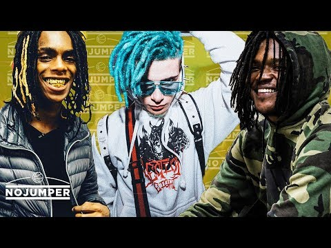 YNW Melly, Icy Narco and Young Nudy going crazy in the club