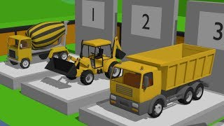Video Exhibition of Construction Machinery | #Excavator, Truck, Roller, Concrete mixer for kids. Maszyny download in MP3, 3GP, MP4, WEBM, AVI, FLV January 2017