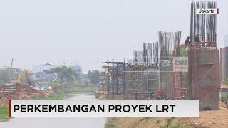 Lahan Hijau Berkorban Demi Proyek LRT Cawang-Cibubur
