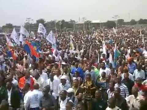 TÉLÉ 24 LIVE: L'intégralité du meeting  de l'opposition congolaise à NDJILI SAINTE THERESE