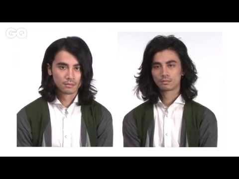 中長髮型男變髮教學-自然空氣感髮型