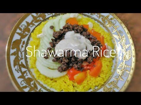 Ground Beef Shawarma Rice | Filipino Style | Food Bae