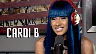 Hot 97 - Cardi B Talks Leaving Love and Hip Hop + Getting Illegal Plastic Surgery