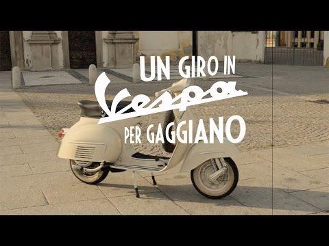 Un giro in Vespa per Gaggiano.