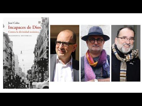 Josep Cobo va presentar 'Incapaces de Dios' amb Joan-Carles Mèlich i Javier Vitoria