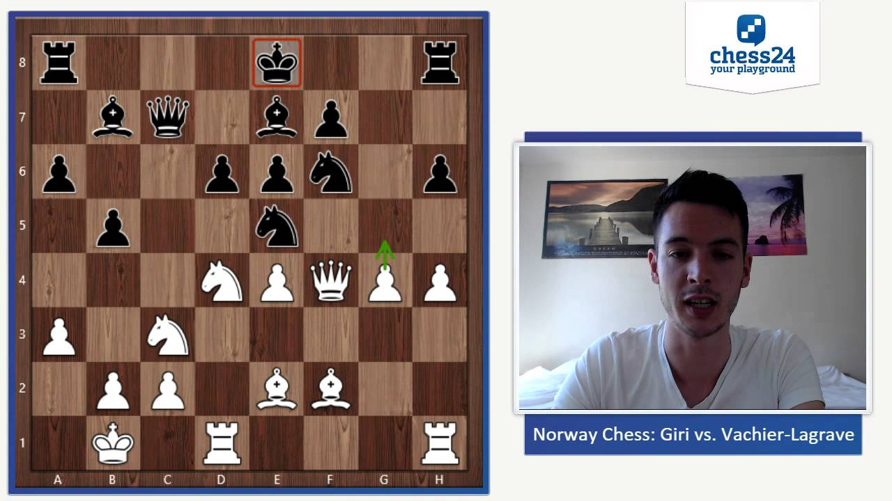 Giri – Vachier-Lagrave Round 2 Norway Chess 2016 | Chess Game Analysis
