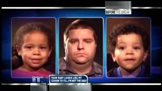 Maury: White parents black kids DNA TEST **FUNNY!**