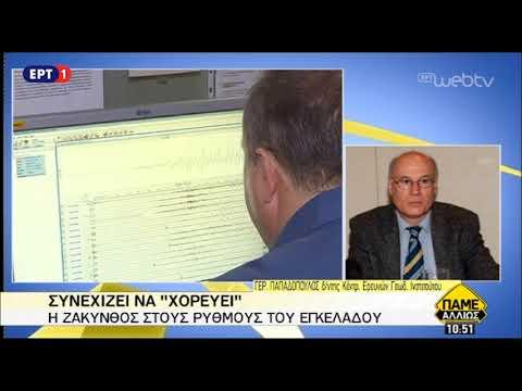 Γ. Παπαδόπουλος: Ομαλή η μετασεισμική δραστηριότητα στη Ζάκυνθο | 4/11/2018 | ΕΡΤ