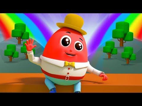 Humpty Dumpty นั่งบนกำแพง | เพลงเด็กไทย | เพลงไข่ตลก | ChildrenRhyme | Humpty Dumpty In Thai