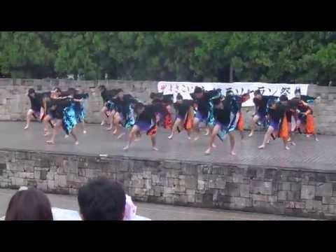2014 大江戸ソーラン祭り5 江戸川区立小岩第四中学校 黒鳳被隊