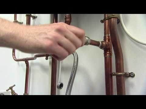How to Repressurise a Heating System with an External Fillin