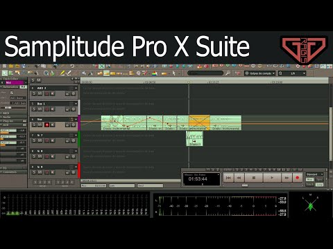 Samplitude Pro X Suite Tutorial en Español