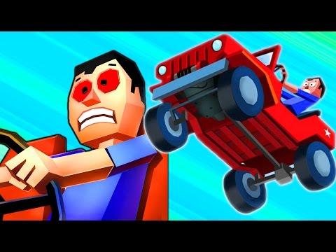 МАШИНКА БЕЗ ТОРМОЗОВ #1 Игровой мультик про машинки для детей.  Игра Faily Brakes для мальчиков