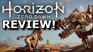Horizon: Zero Dawn Review! Game of the Year 2017?! (PS4)