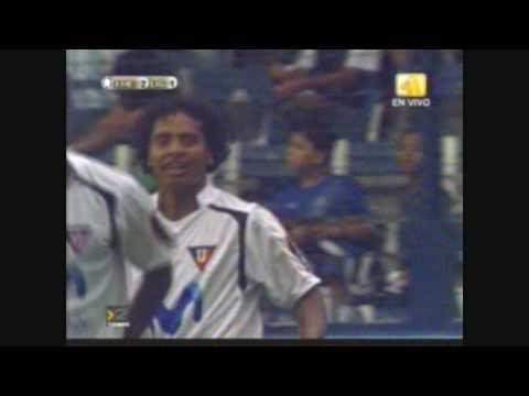 Gol de Franklin Salas en Liga de Quito