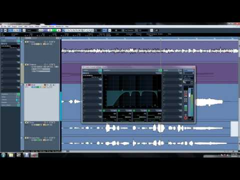 Cubase 5 Totorial - Vocal Mixing Basic Part 1