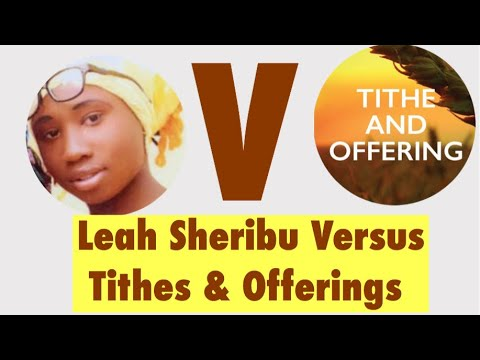 If Leah Sharibu Was Tithe & Offerings Or Private Jet