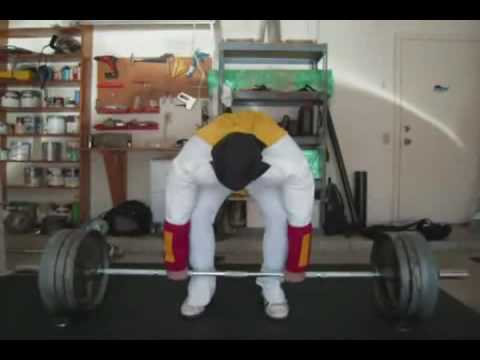 Sherdog Strength & Power Deadlift Competition '08-'09