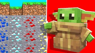 Minecraft -  BABY Yoda Joins Us In A Minecraft Battledome | JeromeASF