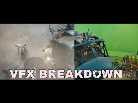 Jumanji Making And Vfx Breakdown
