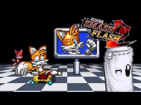 Super Smash Flash 2 Beta - All Victory Poses