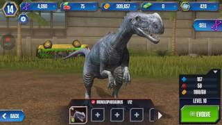 Jurassic world-the game |part 1|