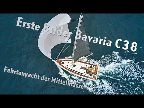 Bavaria C38 - erste Bilder vom Exklusivtest der Familienyacht