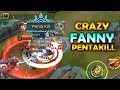 CRAZY FANNY CARRY GAMEPLAY! - MOBILE LEGENDS