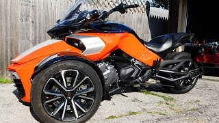7. 2015 Can Am Spyder F3 S