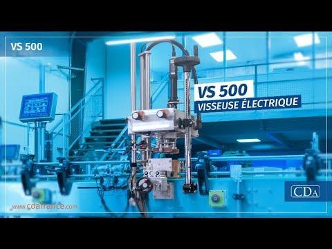 VS 500 - visseuse boucheuse automatique