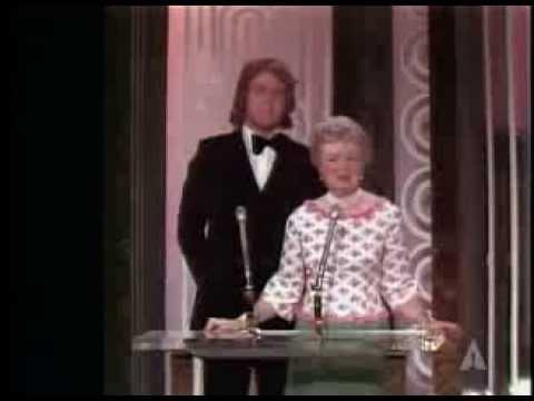 "Franklin J. Schaffner winning the Oscar® for Directing ""Patton"""