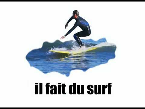 [Basic French lesson] [Vocabulary] Que fait-il vol1