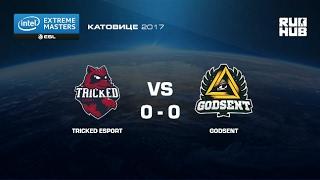 Tricked eSports vs. Godsent- IEM Katowice EU - map3 - de_train [yxo, Enkanis]