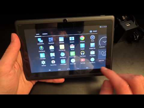 Unboxing & Overview of the Dragon Touch Y88X 7'' Android Tablet - By TotallyudbbedHD