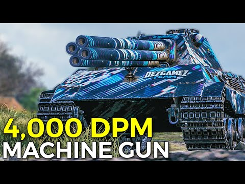 E-50 With Machine Gun is 100% MAD!   World of Tanks E-50 Best DPM Build New Equipment 2.0