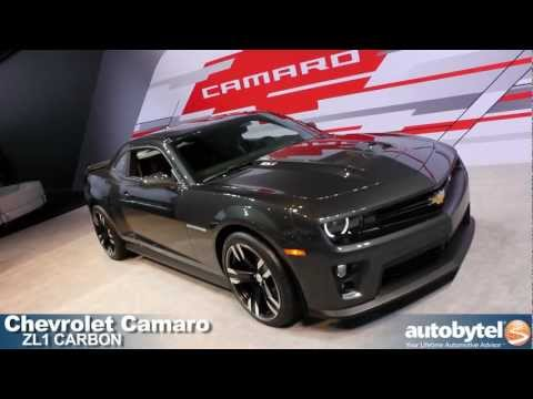 Chevrolet Camaro ZL1 Carbon at the 2012 Detroit Auto Show Video