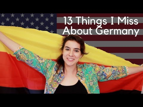 13 Things I Miss About Germany