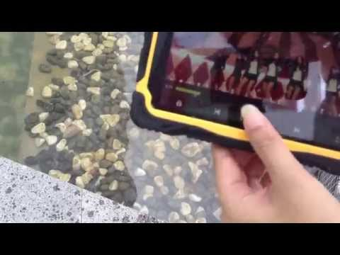 T70R 7 inch waterproof rfid tablet Quad core Android 4 2 IP67 industrial rugged tablet with ce rohs