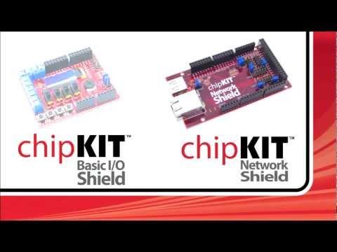 Digilent chipKIT™ Basic I/O Shield™ & Network Shield™ Introduction