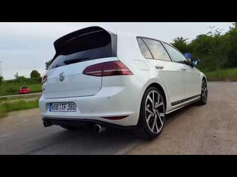 VW Golf 7 GTI Clubsport | Sound & Acceleration | POV | GoPro