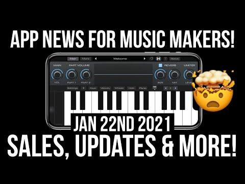 App News for iOS Music Makers 📲🤯 Jan 22nd 2021