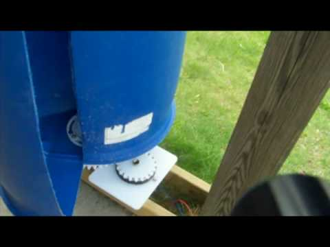 How to Make an Inexpensive Vertical Wind Turbine – Part 2