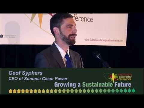 Geof Syphers: Growing Community Power: A New Source Of Prosperity - Sonoma Clean Power