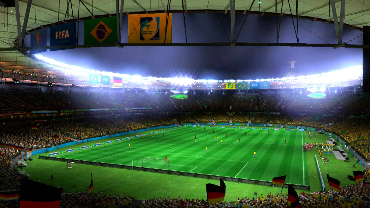 Brazil vs Germany Pretend Olympics Gold Medal Match Using 2014 FIFA World Cup Brazil