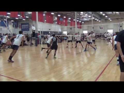 Jacob Branch volleyball Rockstar18s
